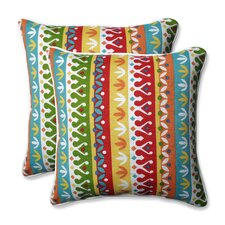 Cotrell Indoor/Outdoor Throw Pillow (Set of 2)