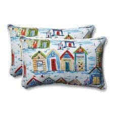 Baycove Cabana Outdoo/Indoor Lumbar Pillow (Set of 2)