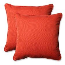 Amazing Splash Outdoor/Indoor Throw Pillow (Set of 2)