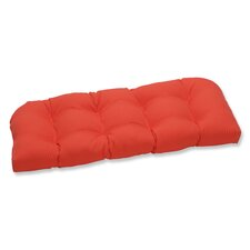 Modern Splash Outdoor Loveseat Cushion