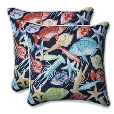 Keyisle Regata Outdoor/Indoor Throw Pillow (Set of 2)