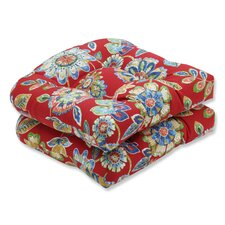 Great Reviews Daelyn Outdoor Chair Seat Cushion (Set of 2)