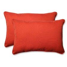 Splash Outdoor/Indoor Lumbar Pillow (Set of 2)