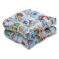 Spacial Price Baycove Cabana Outdoor Chair Seat Cushion (Set of 2)