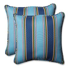 Bonfire Regata Outdoor/Indoor Throw Pillow (Set of 2)