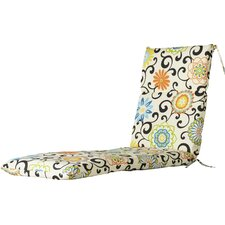 Reviews Pom Pom Outdoor Chaise Lounge Cushion