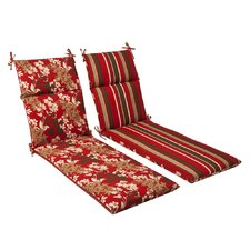 Montifleuri Outdoor Chaise Lounge Cushion