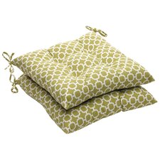 Lovely Outdoor Dining Chair Cushion (Set of 2)