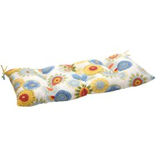 Floral Outdoor Loveseat Cushion