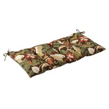 Tropical Outdoor Loveseat Cushion