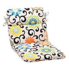 Read Reviews Pom Pom Outdoor Chair Cushion