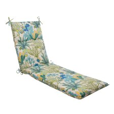 Splish Splash Outdoor Chaise Lounge Cushion