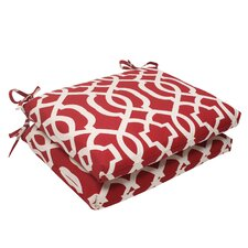 Wonderful New Geo Outdoor Seat Cushion (Set of 2)