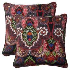 Marapi Corded Indoor/Outdoor Throw Pillow (Set of 2)