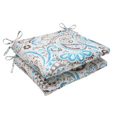 Paisley Outdoor Seat Cushion (Set of 2)