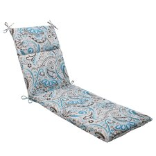 Paisley Outdoor Chaise Lounge Cushion