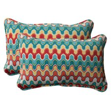 Nivala Corded Indoor/Outdoor Throw Pillow (Set of 2)