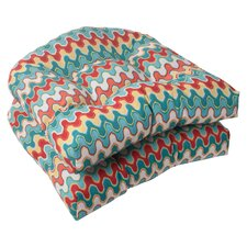Nivala Outdoor Seat Cushion (Set of 2)