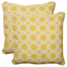 Rossmere Corded Indoor/Outdoor Throw Pillow (Set of 2)