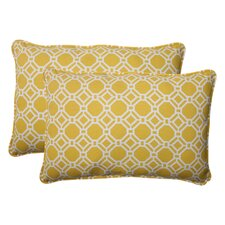 Purchase Rossmere Corded Indoor/Outdoor Lumbar Pillow (Set of 2)