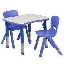 "3 Piece Rectangular Activity Table & 12"" Chair Set"
