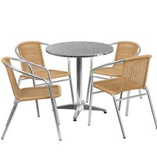 No Copoun 5 Piece Bistro Set