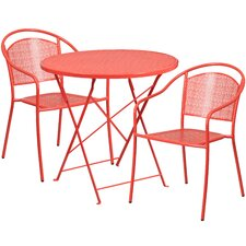 Lovely 3 Piece Bistro Set