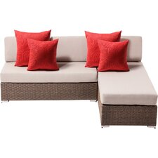 Leads 2 Piece Lounge Seating Group with Cushion