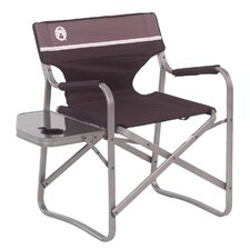 Read Reviews Portable Deck Chair with Side Table