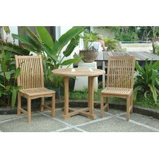 Bahama Chicago 3 Piece Dining Set