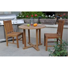 Saratoga 3 Piece Dining Set