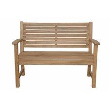 Victoria 2-Seater Teak Garden Bench
