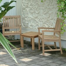 Rialto 3 Piece Arm Chair Set