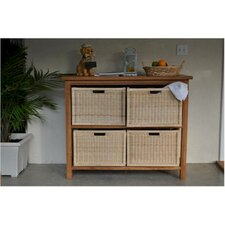 Spa Towel Console Table