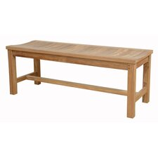 Madison Backless Teak Picnic Bench