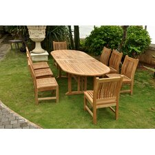 Today Sale Only Sahara 9 Piece Dining Set