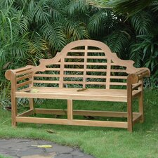 No Copoun Marlborough Teak Garden Bench