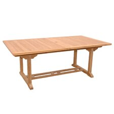 Discount Valencia Rectangular Dining Table with Double Extensions