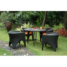 Montebello 5 Piece Dining Set