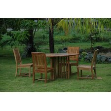 Mission 5 Piece Dining Set