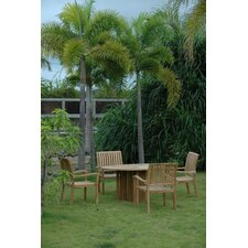 Best Choices Mission 5 Piece Dining Set