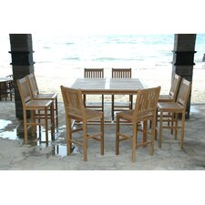 Windsor 9 Piece Bar Set