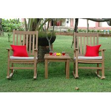 Great Reviews Palm Beach 3 Piece Rocker Seating Set