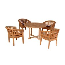 Tosca 5 Piece Dining Table Set