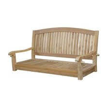 Great Reviews Del-Amo Round Swing Teak Garden Bench