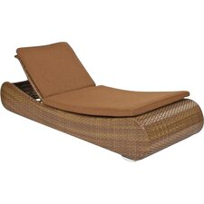 #1 Long Island Single Adjustable Chaise Lounge with Cushion