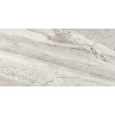 """Eurasia 17"""" x 35"""" Porcelain Field Tile in Bianco"""
