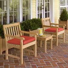 Classic 3 Piece Seating Group with Cushions