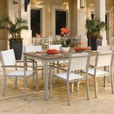 Travira 7 Piece Tekwood Dining Set