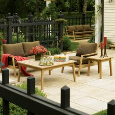 Siena 5 Piece Deep Seating Group with Cushion